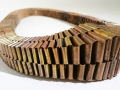 Halsband flätad koppar / Necklace braded copper
