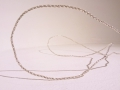 Halsband i flätat silver / Necklace made of braded silver